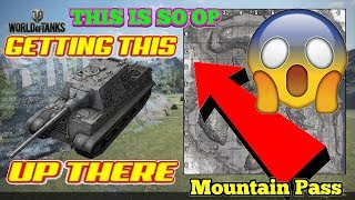 NEW OP CLIMB  Mountain Pass  World of Tanks Conso