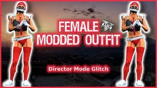"GTA5 ONLINE I FEMALE DIRECTOR MODE MODDED OUTFIT! ""PATCH 1.41"""