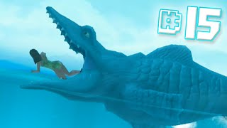 MOSASAURUS EAT!! || Hungry Shark Evolution - Ep 15