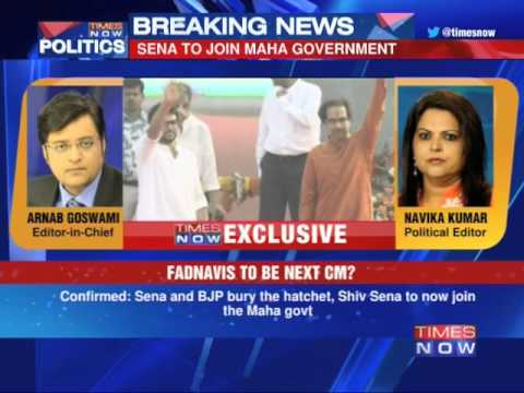 First on TIMES NOW: Shiv Sena to back BJP