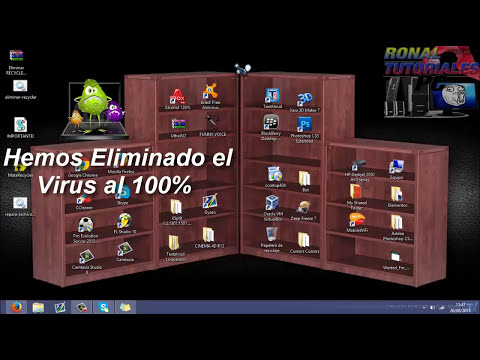 Tutorial: Eliminar Virus RECYCLER Totalmente [USB y PC 100% sin Virus] [2014]