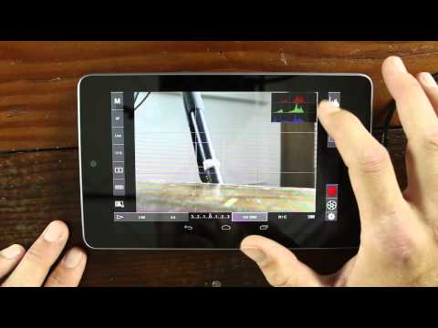 Nexus 7 used as a monitor and usb controller with DSLR Controller - DSLR FILM NOOB