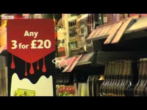 Minimum price plan to end cheap alcohol sales.