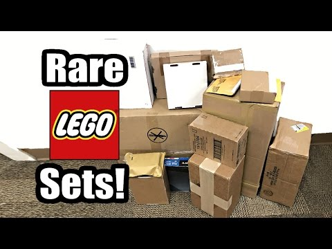 LEGO Mystery Haul and Unboxing April 2017! 15+ Rare Sets and Pieces!