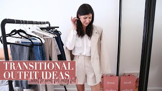 TRANSITIONAL OUTFIT IDEAS: Styling silk blouses ft. Lilysilk [AD] | Mademoiselle