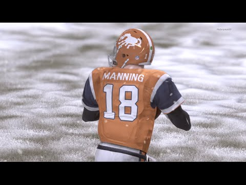 SNOWY FRENZY! Russell Wilson vs Peyton Manning RIVALRY RENEWED! -  Madden 16 Online Gameplay