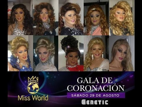 Miss World Gay Guatemala 2015 FINAL