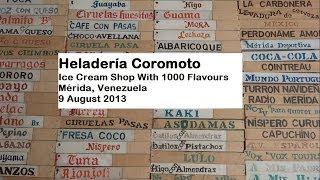Heladería Coromoto: Ice Cream Shop with 1000 Flavours