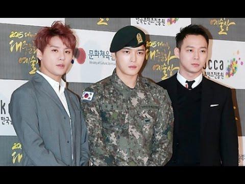 ★2015 South Korea Korean Popular Culture & Arts Awards, Participants include JYJ and Lee Jong-suk★