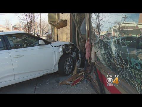 Witness Recounts Car Crash Into Restaurant: 'Bang & Glass & Screeching'