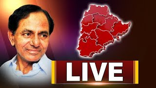 CM KCR Press Meet Live | TRS Manifesto | Telangana Bhavan Live | ABN LIVE