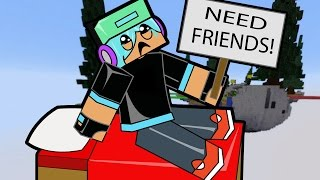 Hacked and All Alone in Minecraft! / Hypixel Bed Wars / Gamer Chad Plays