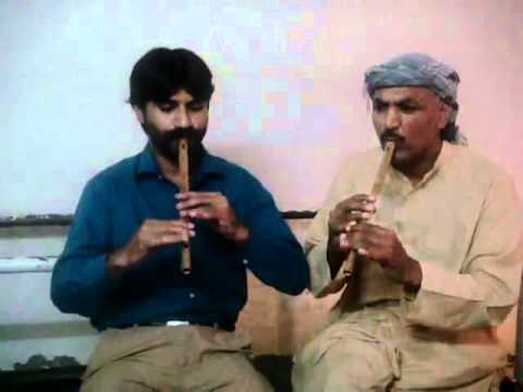 Pankh Hote To Udd Aati Re On Flute By Ustad Awais & Shagird Shahzad video
