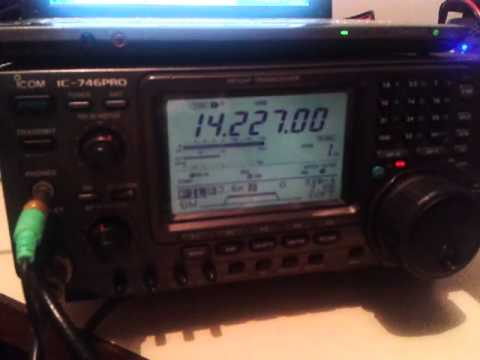KH6IB on 20mts ssb in January 6, 2013