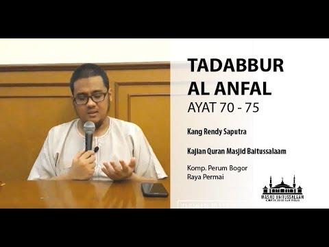 Download Pekan 10 | Kajian Quran Masjid Baitussalaam | Tadabbur QS Al Anfal ayat 70 sd 75 | halaman 186 Mp4 baru