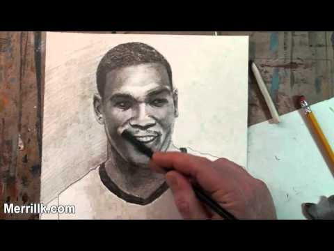 Kevin Durant Drawing Draw Kevin Durant Extended