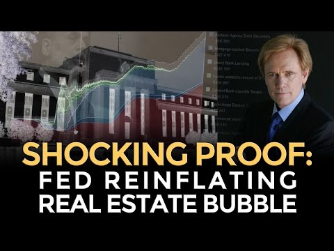 SHOCKING PROOF: Federal Reserve Reinflating Real Estate Bubble - Mike Maloney