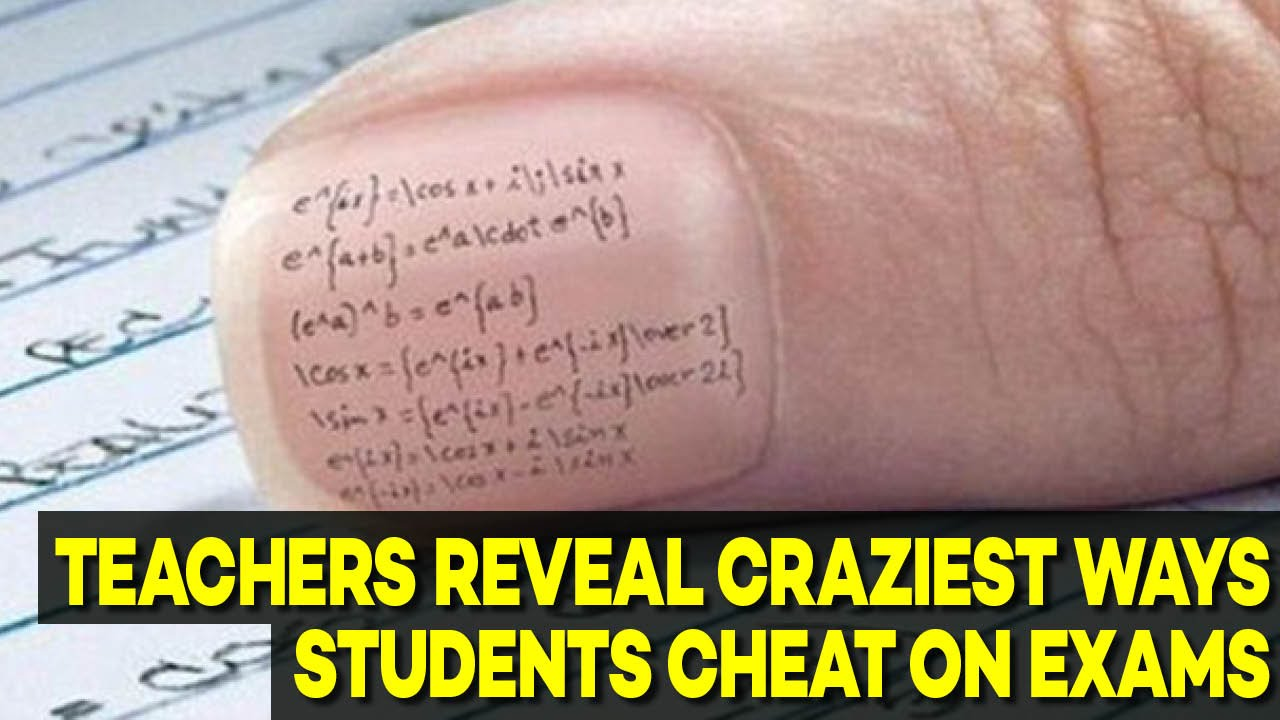 cheating in exams essay If the report on suspected exam cheating is rejected or if during future exams cases regarding exam cheating are in the examination papers.