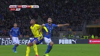 Qualifications Coupe du Monde 2018 - Italie / Suède