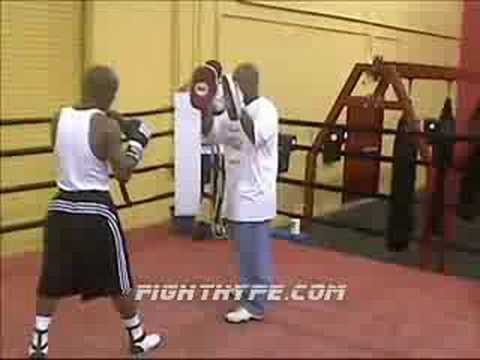 FIGHTHYPE FLASHBACK: ZAB JUDAH TRAINS FOR SPINKS