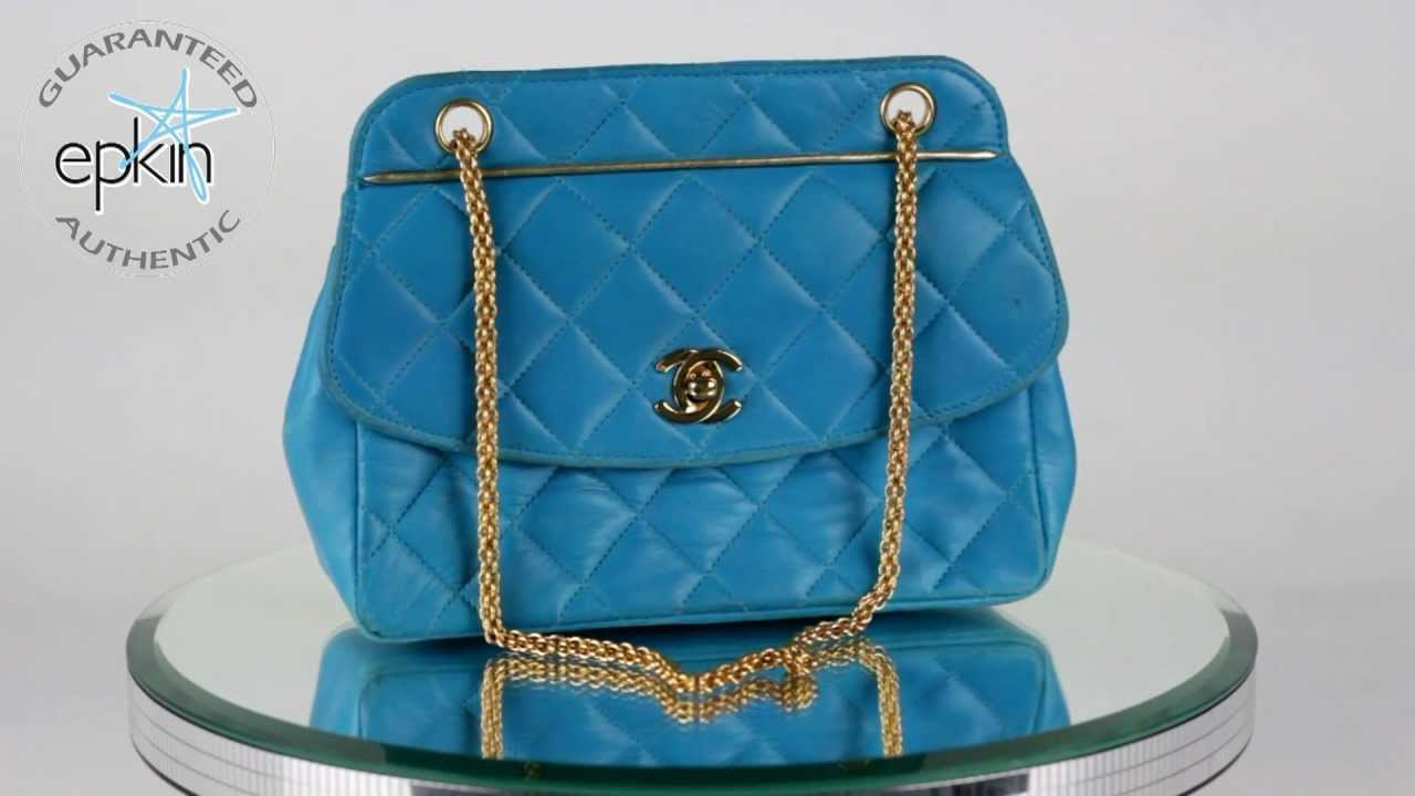 Quilted Leather Chanel Bag Chanel Quilted Leather Flap