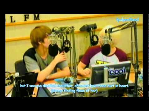 Kyuhyun & Eunhyuk talking about (rap + dance)Kyu and their noonas