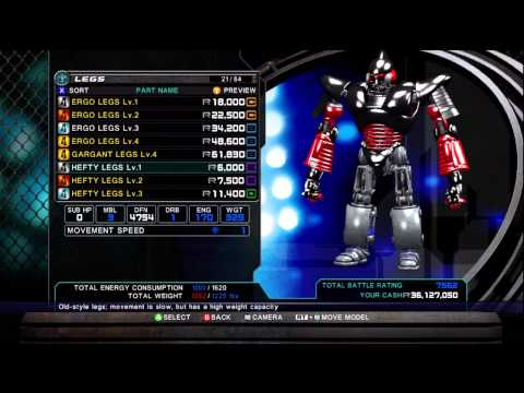 Real Steel - Customization (Xbox 360) HD 720p