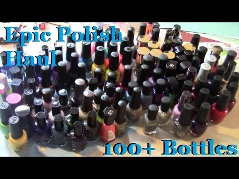 Epic Nail Polish Haul from the Holidays
