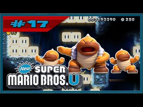 New Super Mario Bros. U,Part 17,Plumber VS Sumo Bro