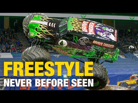 Grave Digger In Never-Before-Seen 2010 Freestyle Houston