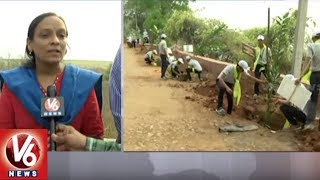 Warangal Rural Collector Haritha Participates Trekking In Pakala | Forest Day