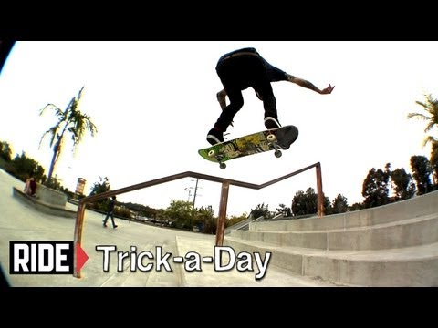 How-To Backside Heelflip with James Brockman - Trick-a-Day