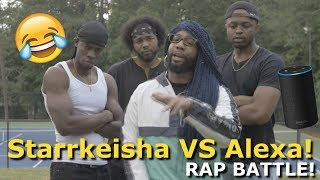 Starrkeisha VS Alexa (RAP BATTLE) 😂 | Random Structure TV