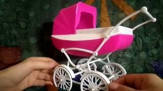 Детские коляски для кукол своими руками 2