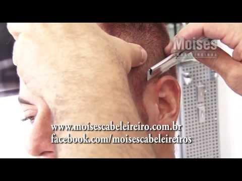 Video aula de Corte Masculino - Moisés de Carvalho
