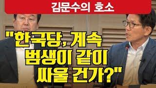 """김문수, """"김무성은 천년간 박근혜 저주받을 것"""""""