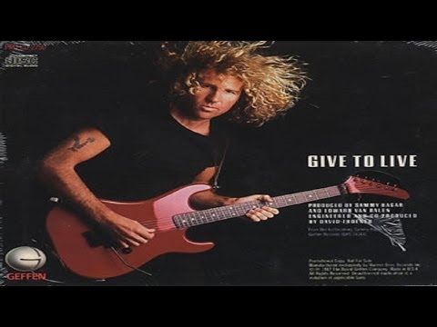 Sammy Hagar - Give To Live (1987) (Music Video) WIDESCREEN 1080p
