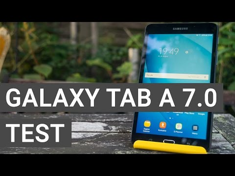 Samsung Galaxy Tab A 7.0 im Test   Tablet Review   Deutsch