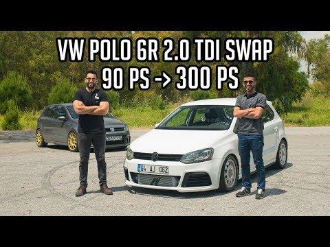 VW POLO 2.0 TDI Swap Stage 3 / 300 PS 500 NM / 100-200 Hızlı !