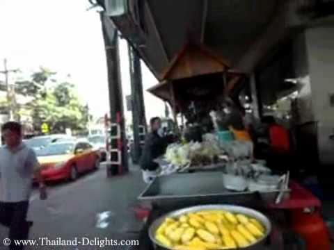 Street Stalls, Sukhumvit Road, Soi 107, Samrong, Sukhumvit Road, Thailand.