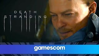 Death Stranding - FULL Gameplay Reveal with Kojima | Gamescom 2019 | Opening Night Live