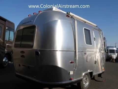 2013 Airstream Sport 16 Bambi Sharksfin Small Tiny Mini Camping Trailer