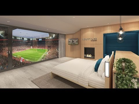 Bayern Munich to offer fans extraordinary hotel experience with world class view of Allianz