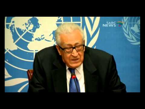 Brahimi apologizes to Syrian people for lack of peace progress