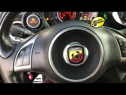 Concours d'LeMons 500 Abarth Entry