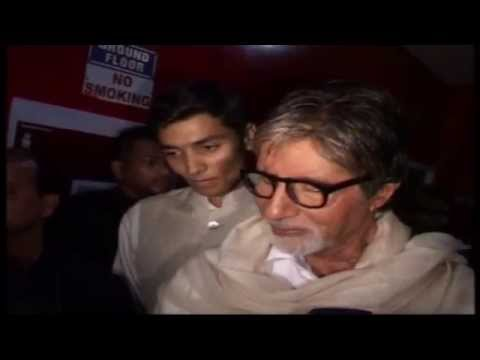 Big B At The Screening Of Bombay To Goa : Gets Nostalgic video