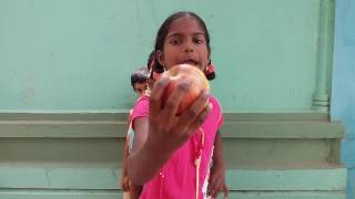 1st CLASS-(Unit5)FRUITS..Apple apple,Red red apple( rhyme)by SREENIVASULU BIKKI.Pamidi. ANANTAPUR
