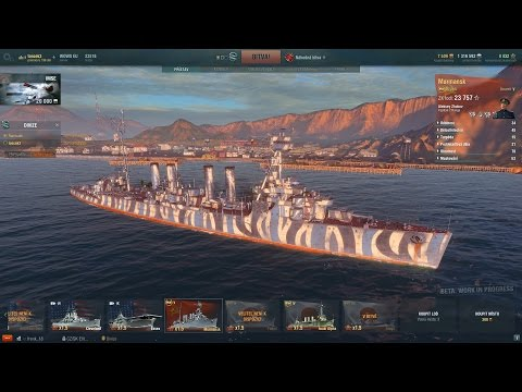 World of Warships CZ - Murmansk