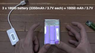 How to measure the capacity of a powerbank