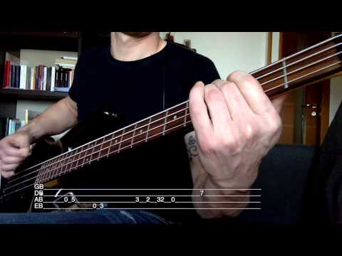 Guns N' Roses - Don't Cry[bass Cover W/TABS]